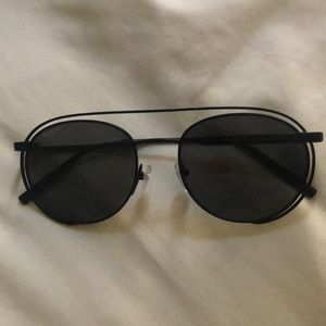 Ferragamo black sunglasses